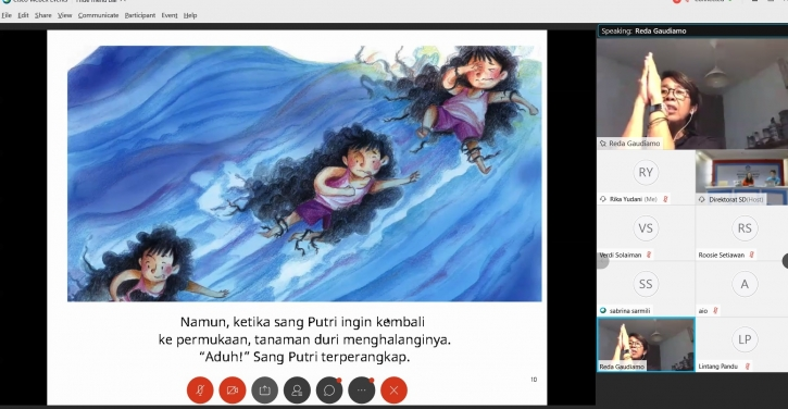 Perkuat Literasi, Room To Read Berbagi Perpustakaan Digital