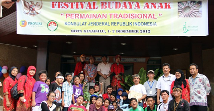 Indonesian Children Culture Festival 2012; Indonesia's Traditional Games